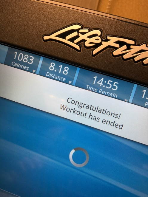 The Week of the Treadmill – TheHealthyNut